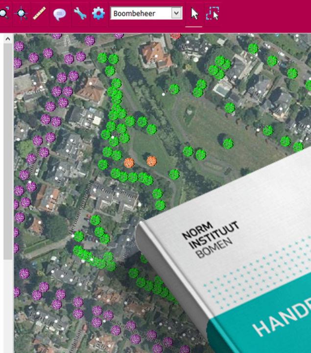 Conversies naar dataregistratie Handboek Bomen